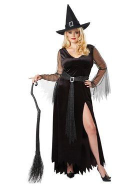 Rich Witch Plus Sized Costume for Women