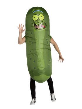 Adult Pickle Rick Costume