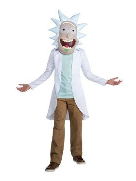 Rick Costume For Teens