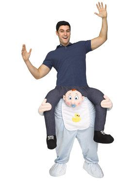 Ride a Baby Costume For Adults