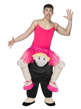 Adult Ride-A-Ballerina Costume