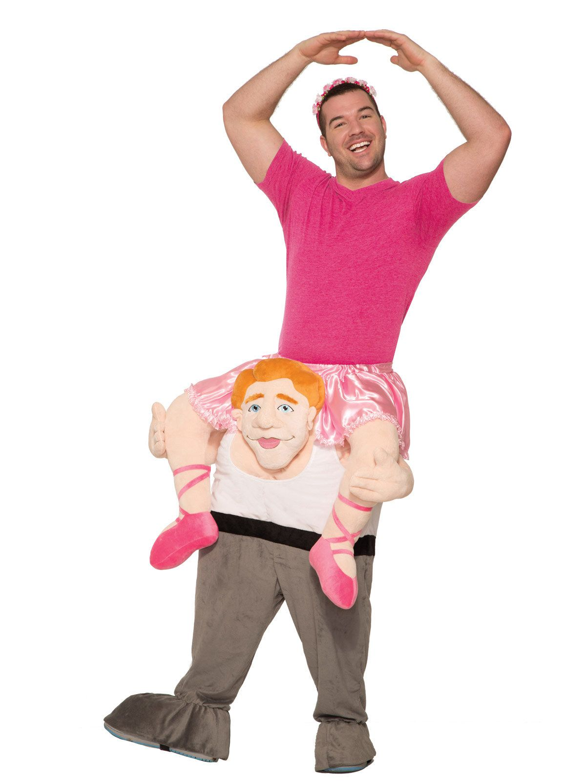 Ride a Ballerina Adult Costume  sc 1 st  Wholesale Halloween Costumes & Ride a Ballerina Adult Costume - Mens Costumes for 2018 | Wholesale ...