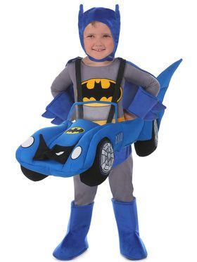Ride a Batmobile Child Costume