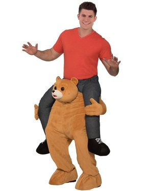 Adult Ride a Bear Costume For Adults