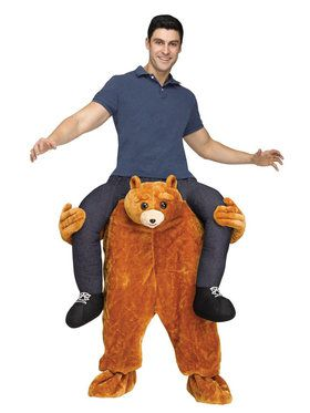 Ride A Bear Costume For Adults