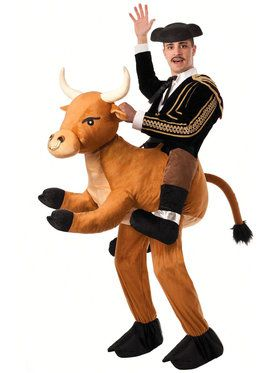 Ride a Bull Adult Costume for Halloween