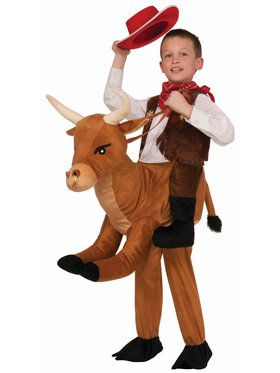 Ride a Bull Costume For Children