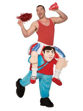 Ride a Cheerleader Adult Costume