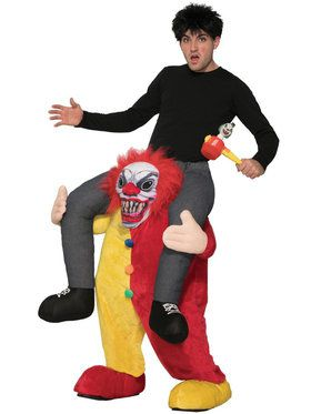 Adult Ride a Clown Costume