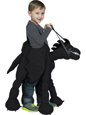 Ride-A-Dragon Child Costume