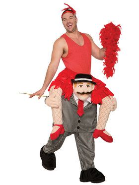 Adult Ride a Flapper Costume