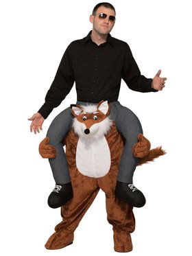 Adult Ride a Fox Costume For Adults