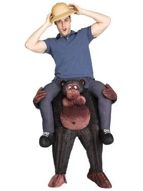 Ride a Gorilla Costume For Adults