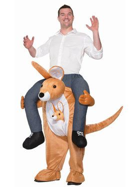 Ride a Kangaroo Costume For Adults