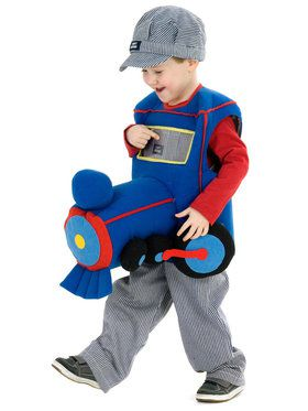 Ride a Plush Train Costume For Toddlers