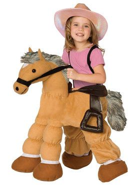 Ride a Pony Costume For Children