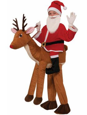 Ride a Reindeer Child Costume
