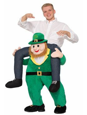 Ride a St. Patrick's Day Leprechaun Adult Costume