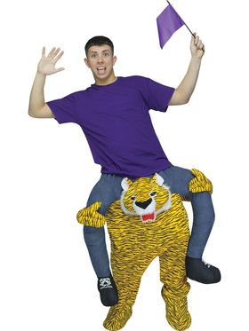 Adult Ride-A-Tiger Costume