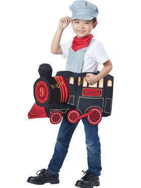 Ride a Train Costume For Children