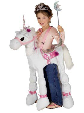 Ride-A-Unicorn Girls Costume