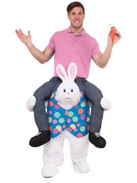 Ride an Easter Bunny Costume For Adults