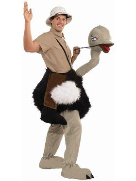 Ride an Ostrich Costume For Adults