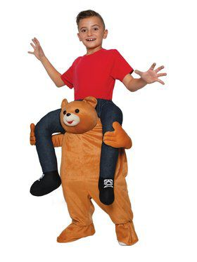 Bear Ride On Child Costume