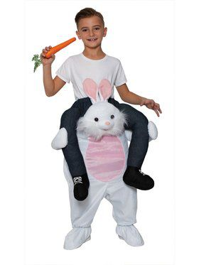 Ride On Bunny Child Costume