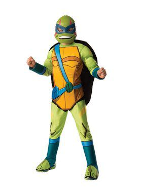 Rise Of The Teenage Mutant Ninja Turtles Deluxe Leonardo Costume for Boys