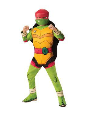 Rise Of The Teenage Mutant Ninja Turtles Deluxe Raphael Costume for Boys