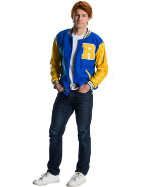Adult Deluxe Riverdale Archie Andrews Costume