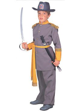 Historical costumes at low wholesale prices wholesale historical robert e lee costume for children solutioingenieria Image collections