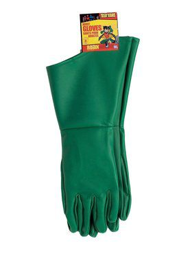 Teen Titans Adult Robin Gloves