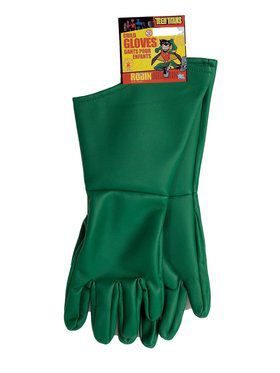 Teen Titans Childrens Robin Gloves