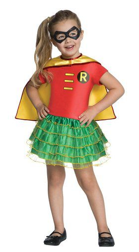 Girls Robin Tutu Costume Set