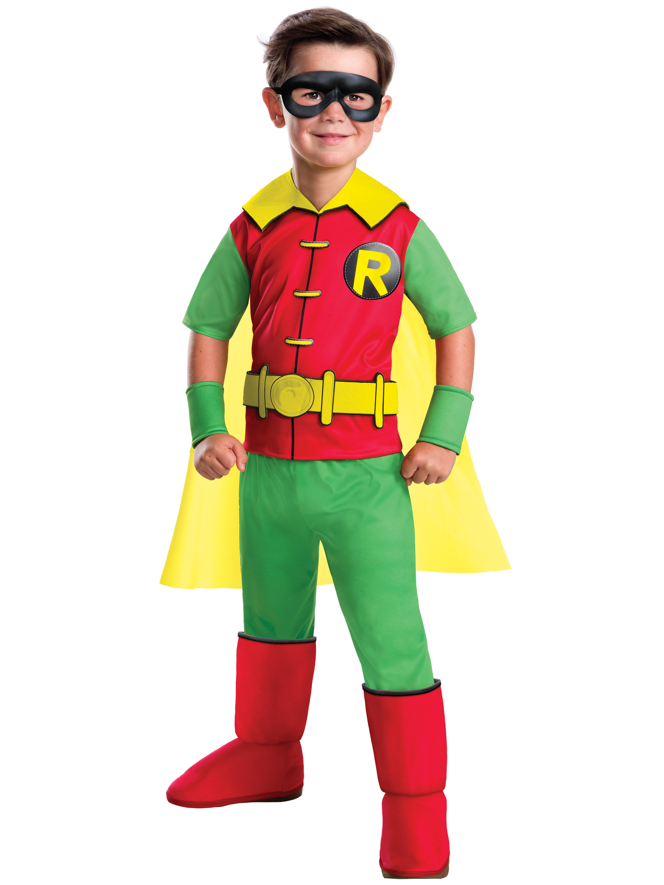 Robin Deluxe Dc Comics Child Costume R630880-M