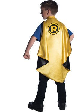 Robin Deluxe Cape Boy's Costume