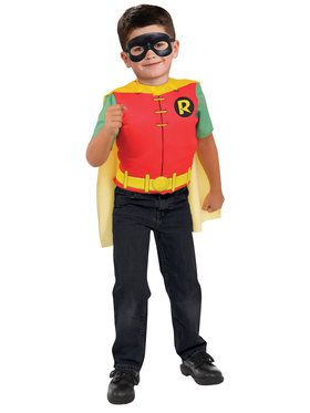 Robin Deluxe Costume Top Set for Halloween