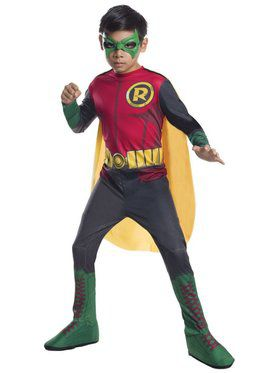 Kids Photo Real Robin Costume