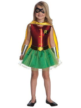 Robin Tutu Costume For Toddlers