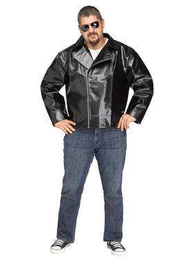Plus Size SizeRock n' Roll 50's Jacket For Adults