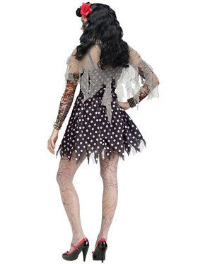 Rockabilly Zombie Adult Costume