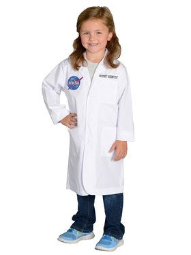 Rocket Scientist Lab Coat Kids Costume