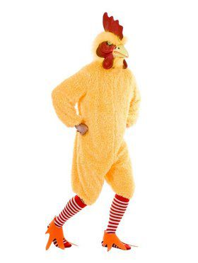 Adult's Rocking Rooster Funky Chicken Too Costume