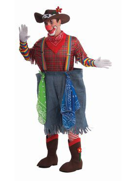 Rodeo Clown Adult Costume