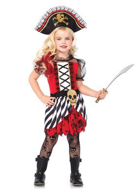 Rogue Pirate Girl's Costume