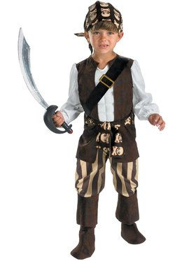 Rogue Pirate Costume For Toddlers