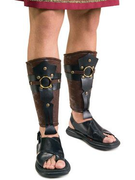 Roman Leg Guards For Adults