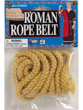Adult Roman Rope Belt